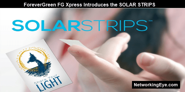 ForeverGreen FG Xpress Introduces the SOLAR STRIPS
