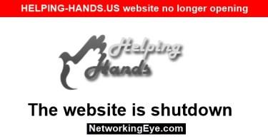 HELPING-HANDS.US website no longer opening