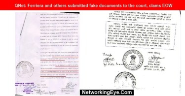 QNet Ferriera and others submitted fake documents to the court clams EOW