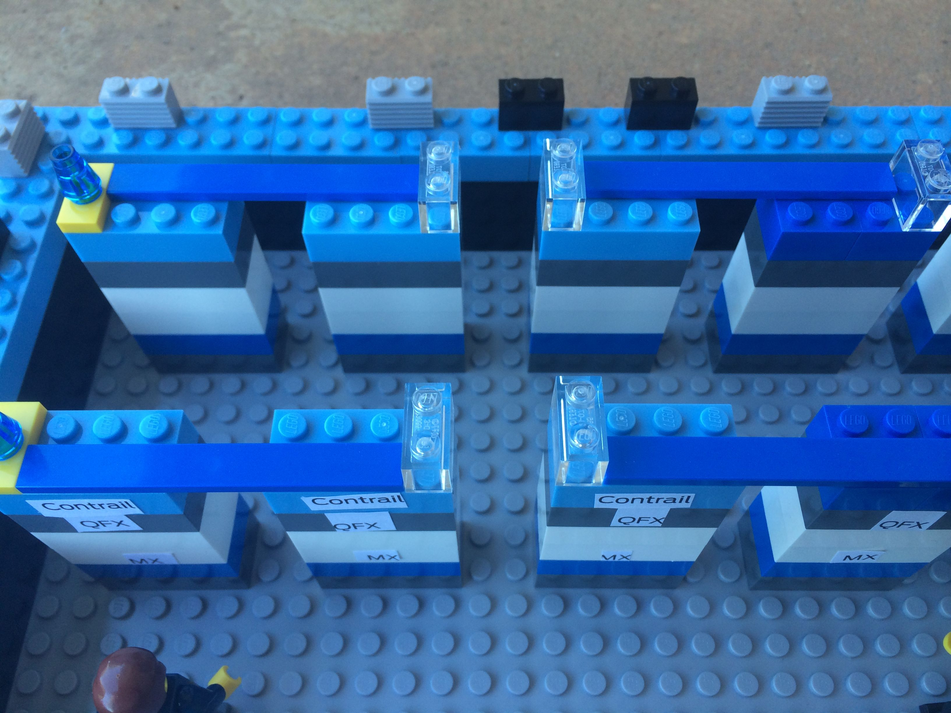 Building A Lego Data Center Juniper Style The Networking