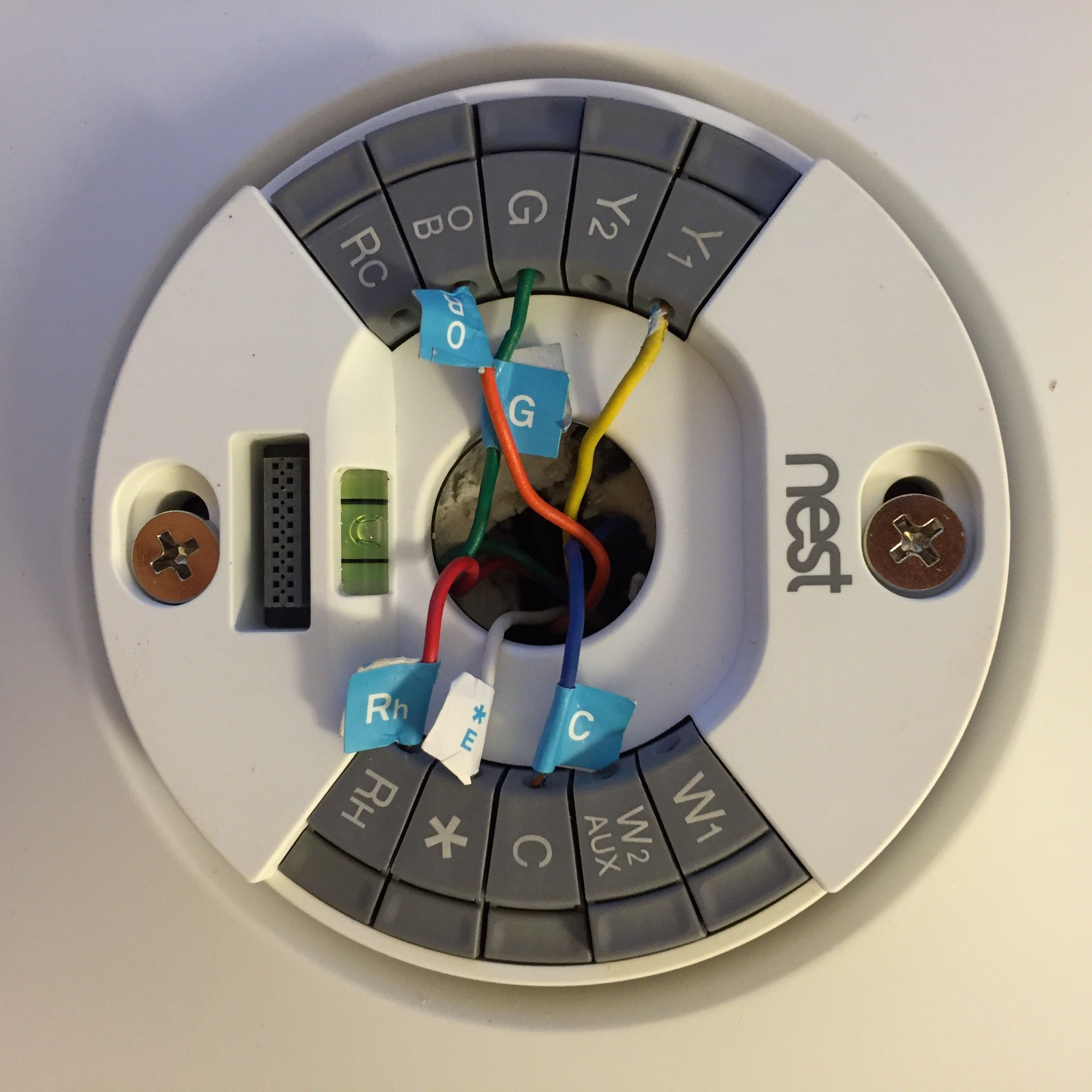 Wiring Diagram For A Nest Thermostat Auto Electrical Power Relay With Plate 28 Images
