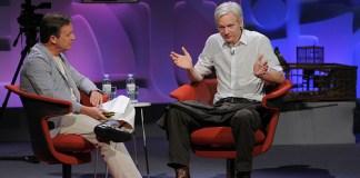 Julian Assange olant eigen Tv-Show