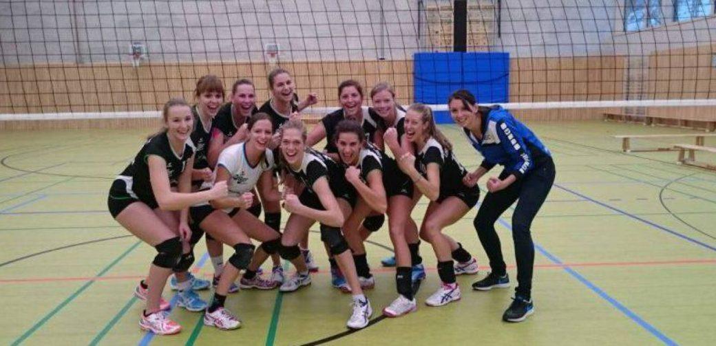 Damen sichern sich nach packendem Spiel den Aufstieg in die Oberliga