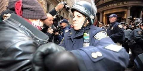 Occupy Wall Street holds day of action in New York