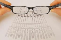 Image shows a pair of glasses.