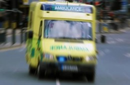 Photo of an ambulance.