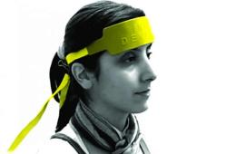 Image shows a person in the fNIR sensor.