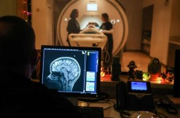 an fMRI machine