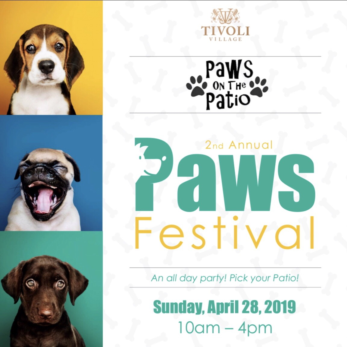 Brio Tivoli Village Happy Hour Menu Tivoli Village Hosts Second Annual Paws Festival Sun Apr 28