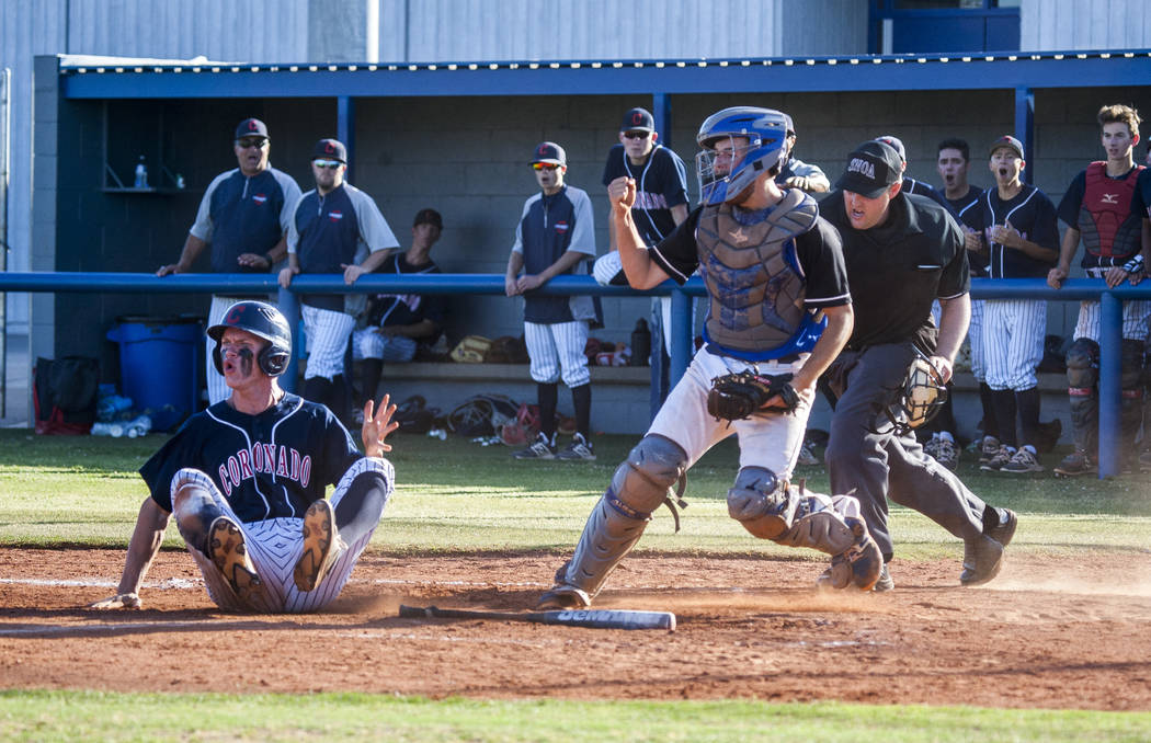 SUNRISE BASEBALL Basic one win away from region title after 7-3 win