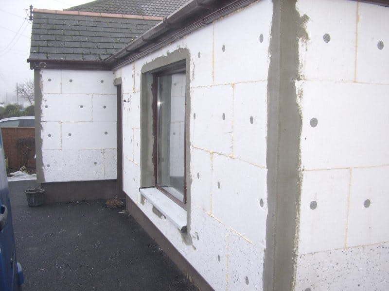 Isolation Mur Exterieur Polystyrene Exterior Solid Wall Insulation | Never Paint Again