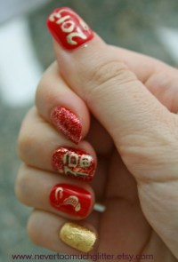 New Year Ball Nail Design Pictures to Pin on Pinterest ...