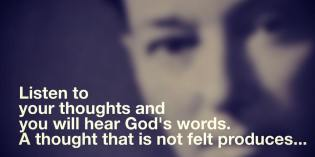 How To Hear God's Words – Neville Goddard