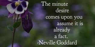 Desire by Neville Goddard – How To Feel It Real