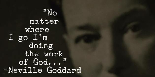 I Go Right Into The Scene and Explore – Neville Goddard