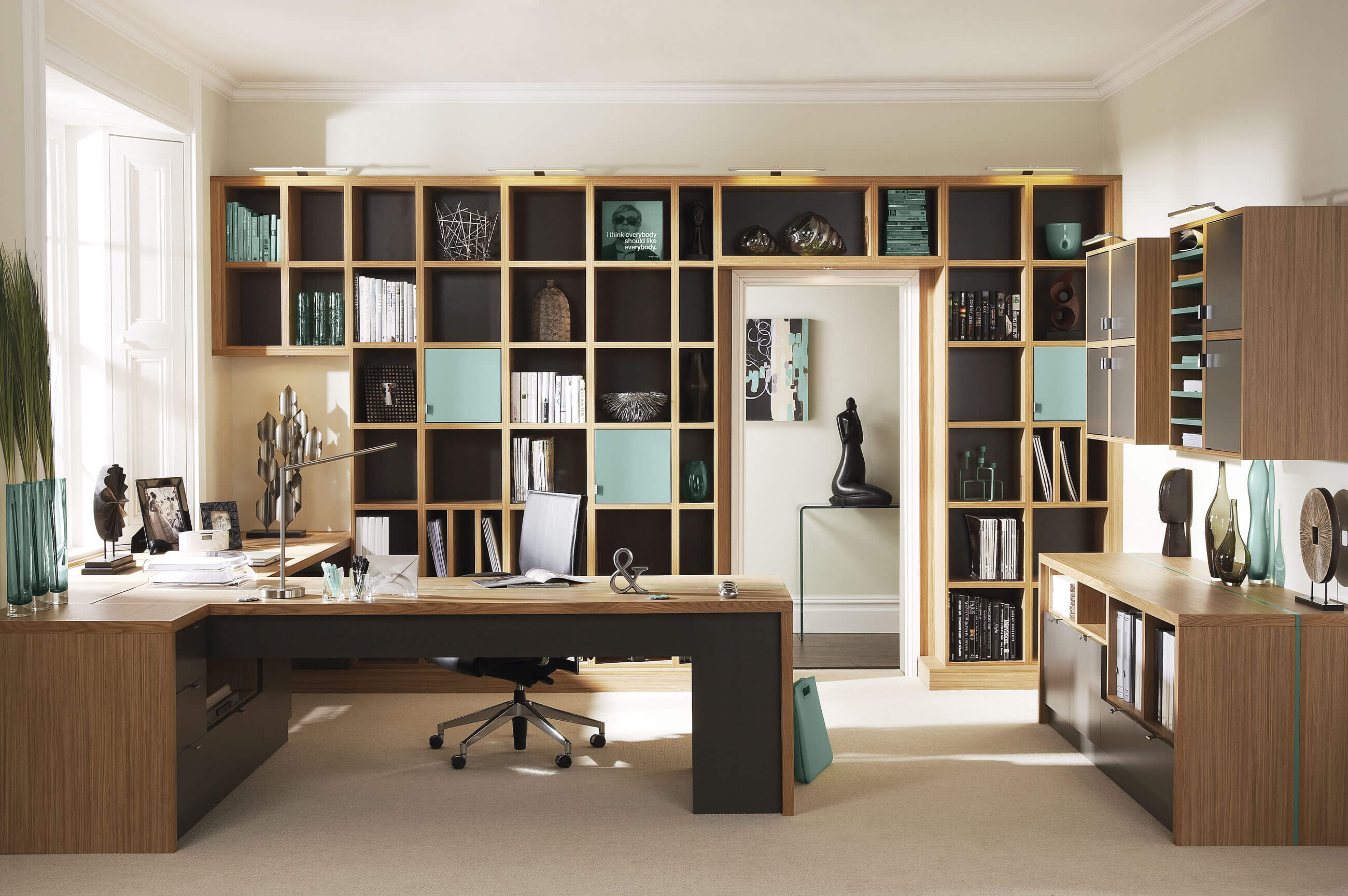 Home Office Decor Ideas Pictures Contemporary Study Furniture Neville Johnson