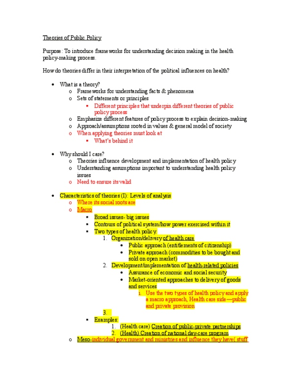 HLTC43H3 Lecture Notes - Fall 2012, - Behavioralism, New