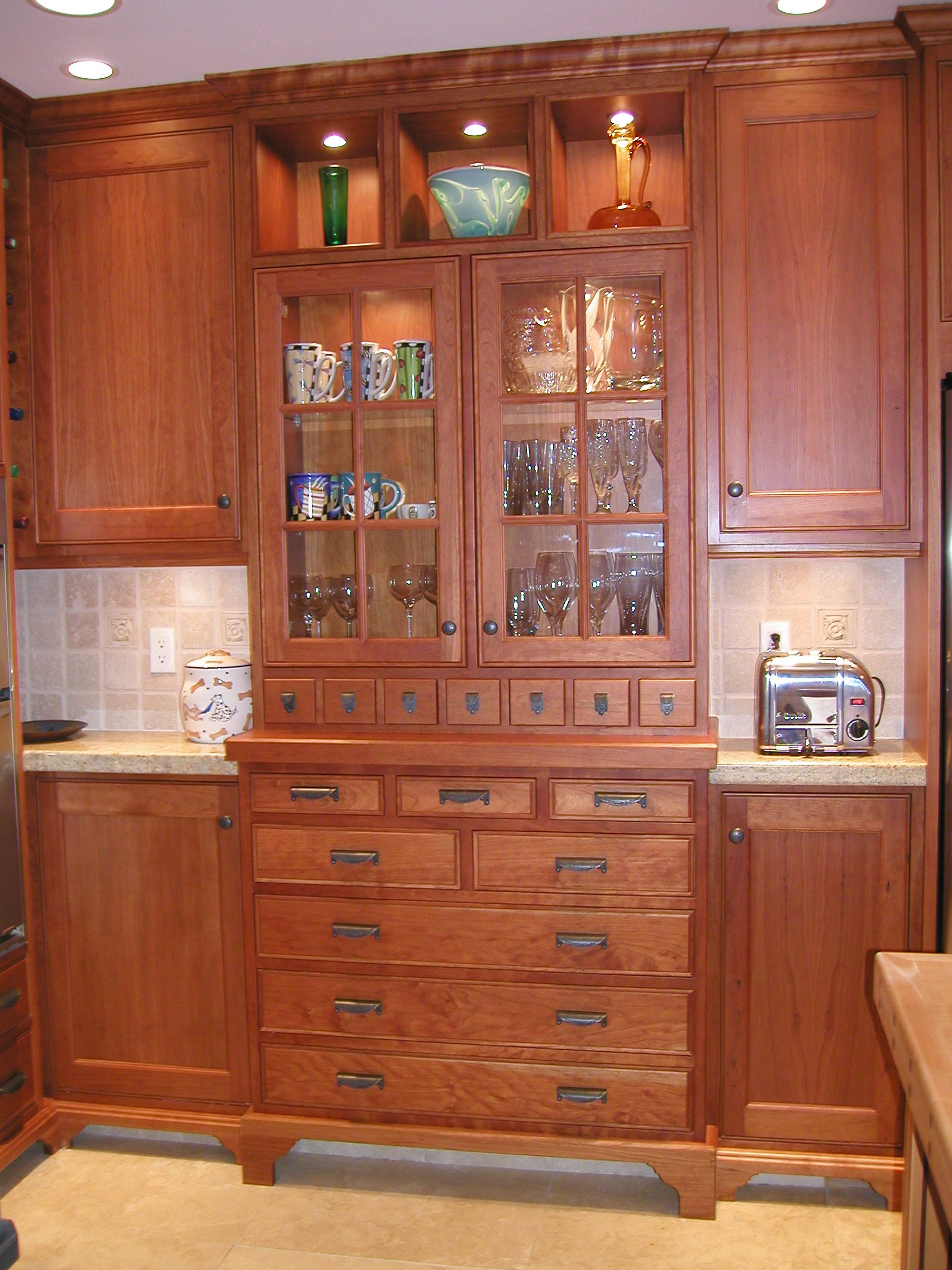 Kitchen Cabinet China Built In China Cabinet Craftsman House Pinterest