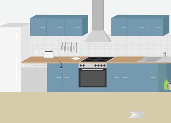 Kindersichere Wohnung Ratgeber New Swedish Design - kueche kindersicher machen tipps