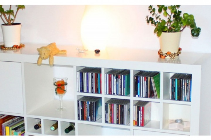 Regal Schwarzbraun Cd Einsatz Für Expedit Regal | Expedit Regal | Ikea-möbel
