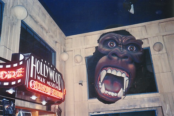 hollywood wax museum kong