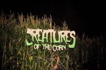 Creatures of the Corn haunted trail