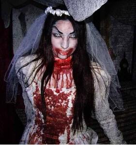empty grave bride