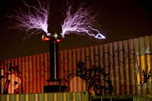 The old Tesla Coil retired years ago.