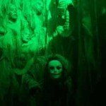 The Empty Grave: green wall of faces