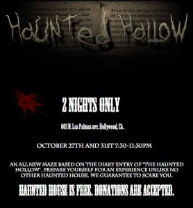 haunted hollow 2012