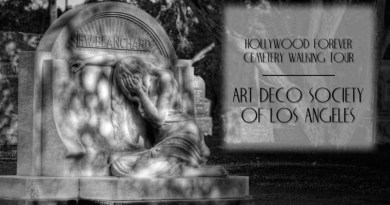 hollywood forever cemetery art deco tour