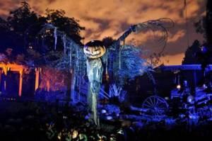 winchester mystery house scarecrow jack o lantern