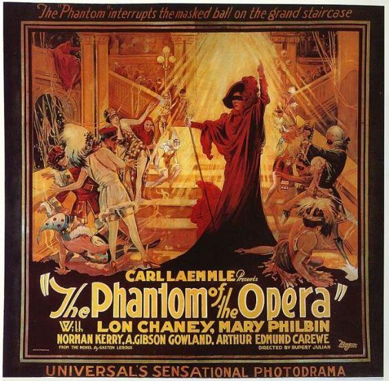 Phantom of the Opera 1925 poster