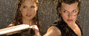 Resident Evil Afterlife Ali Larter and Milla Jovavich