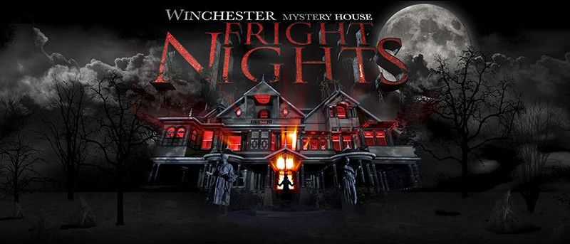 Winchester Mystery House Fright Nights banner