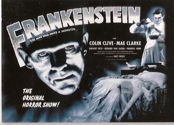 frankenstein poster horizontal
