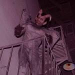 Blumhouse of Horrors 2012 demon on fire escape