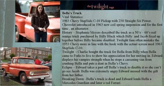 twilight bella's truck