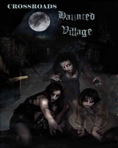 Crossroads Haunted Village poster