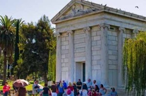 Hollywood Forever Cemetery Tour