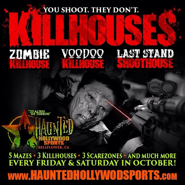 Haunted Hollywood Sports Halloween Attraction