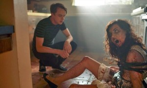Zach (Dane DeHaan) tries to deal with his zombie girlfriend (Aubrey Plaza).