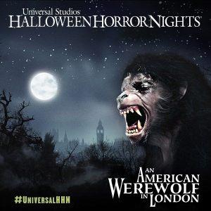 Halloween Hororr Nights 2014: American Werewolf in London maze