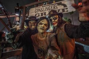 Knott's Scary Farm: The Gunslinger's Grave entrance