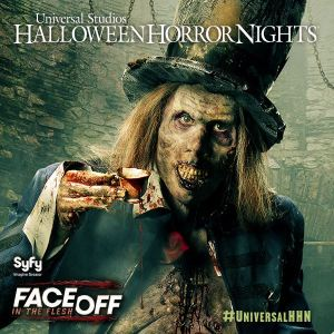 Halloween Horror Nights 2014 Face Off