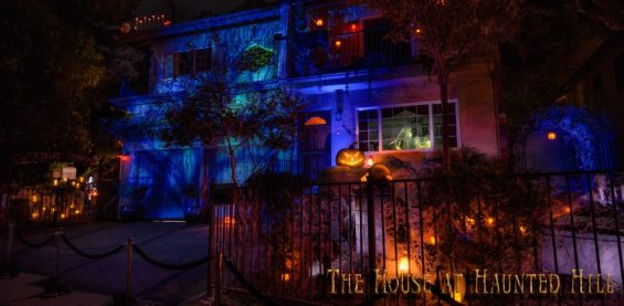 House on Haunted Hill facade
