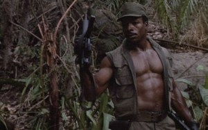 Carl Weathers in PREDATOR