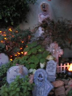 Haunting in Sylmar tombstones