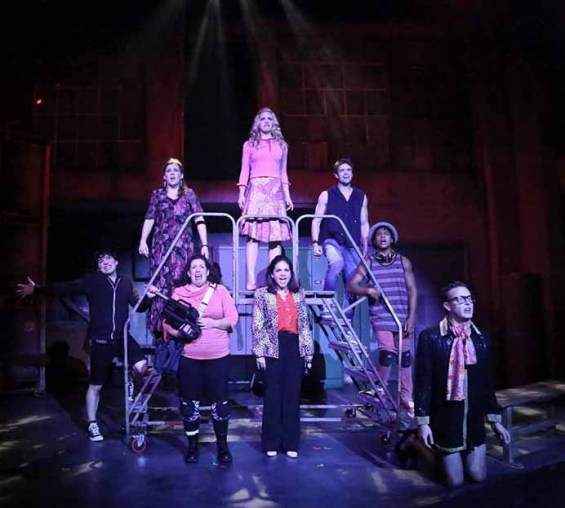 The cast of Scary Musical: The Musical at the NoHo Arts Center