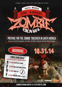 Zombie Crawl in Santa Monica